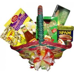 ​Christmas Gifts Basket Send to Manila