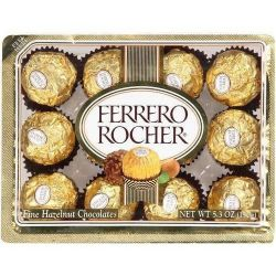 ​12 Ferrero Rocher Chocolate