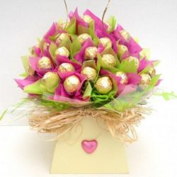 ​24 Ferrero in beautiful bouquet