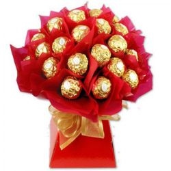​16 Ferrero in a Red Bouquet