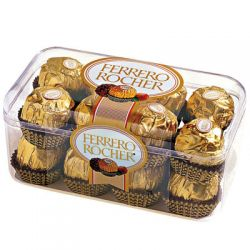 ​16 Ferrero Rocher Chocolate