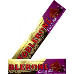 ​Toblerone Fruit & Nut Chocolate Bar 400g