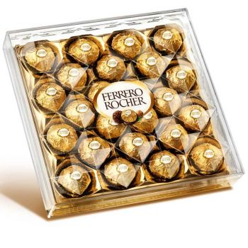 ​24 Ferrero Rocher Chocolate